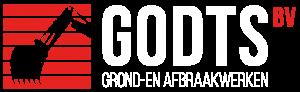 Godts grond- en afbraakwerken logo NL - wit