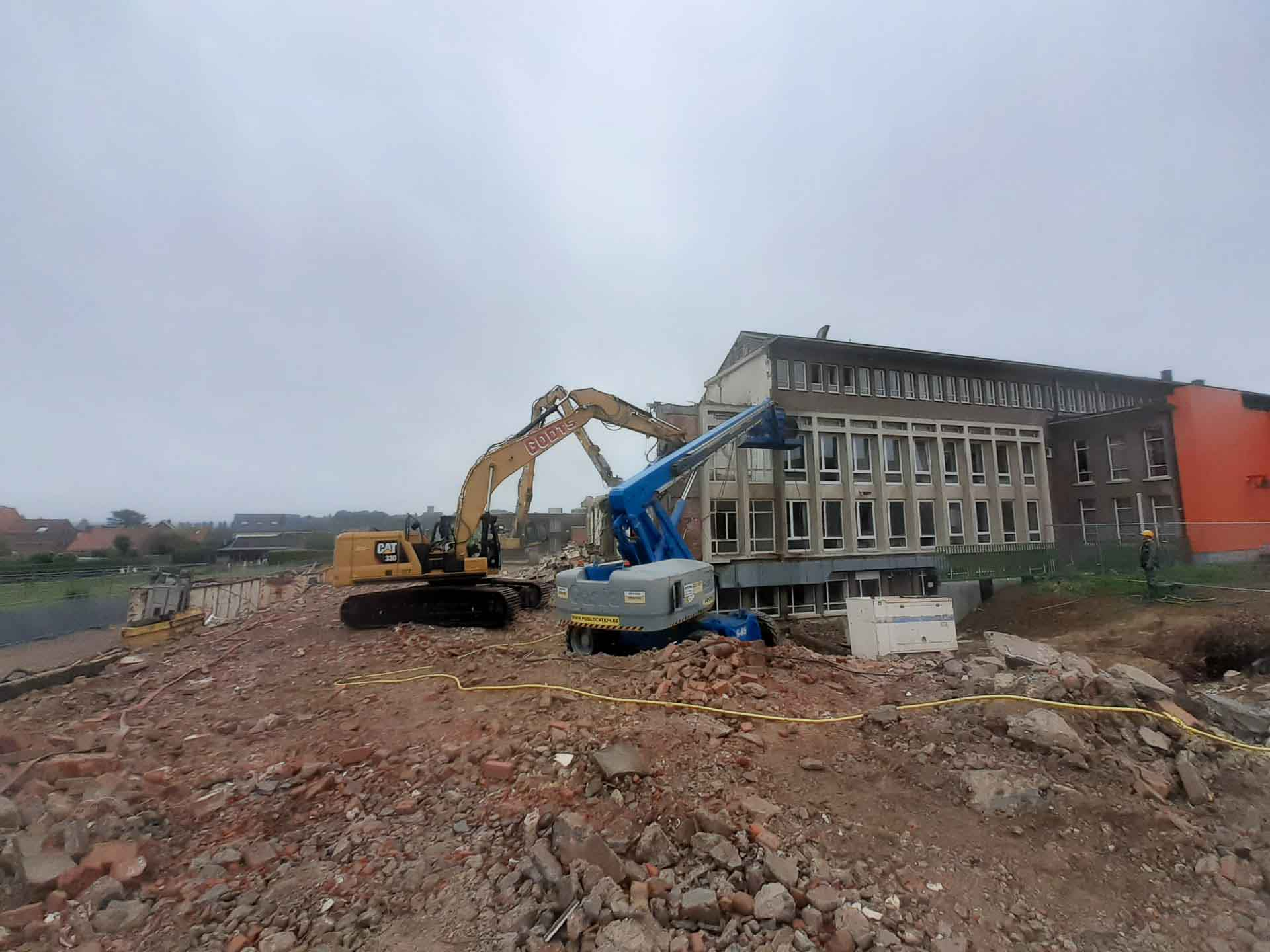 Godts grond-en afbraakwerken gebouw
